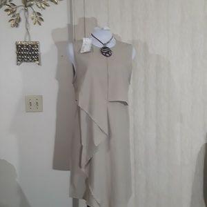 Miilla Beige Dress size small new